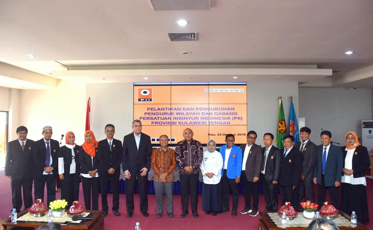 Dies Natalies Ke 36, Fakultas Teknik Untad Gelar Seminar Nasional & Pelantikan Pengurus Persatuan Insinyur Indonesia Wilayah Sulteng
