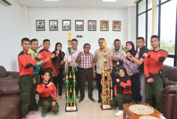 Team Mahasiswa Untad Juarai Lomba Lintas Medan Wisata Nasional Di Makassar