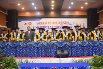 Wisuda Untad Angkatan Ke 99 Lahirkan 920 Alumni