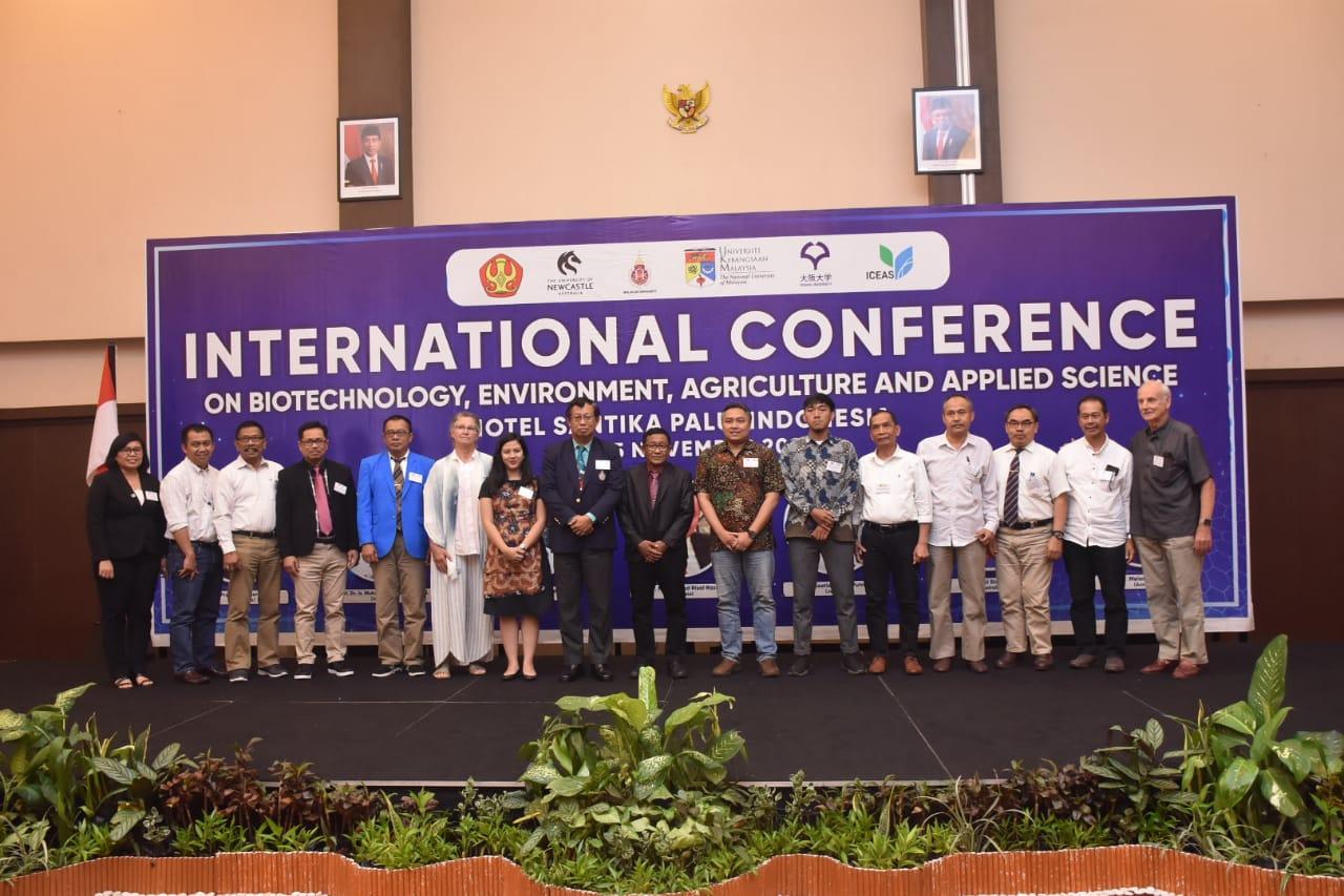 IPCC Bersama Dewan Professor Untad Gelar International Conference Terkait Biotechnology, Lingkungan & Agriculture