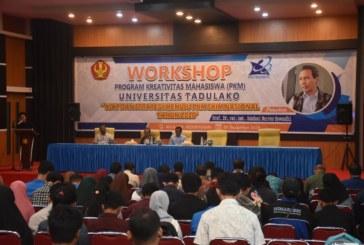 Workshop Program Kreativitas Mahasiswa Untad Bahas Kiat Dan Strategi Menuju PKM SKIM Nasional