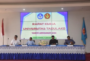 Memasuki Awal Tahun 2020, Rektor Gelar Rapat Kerja Untad