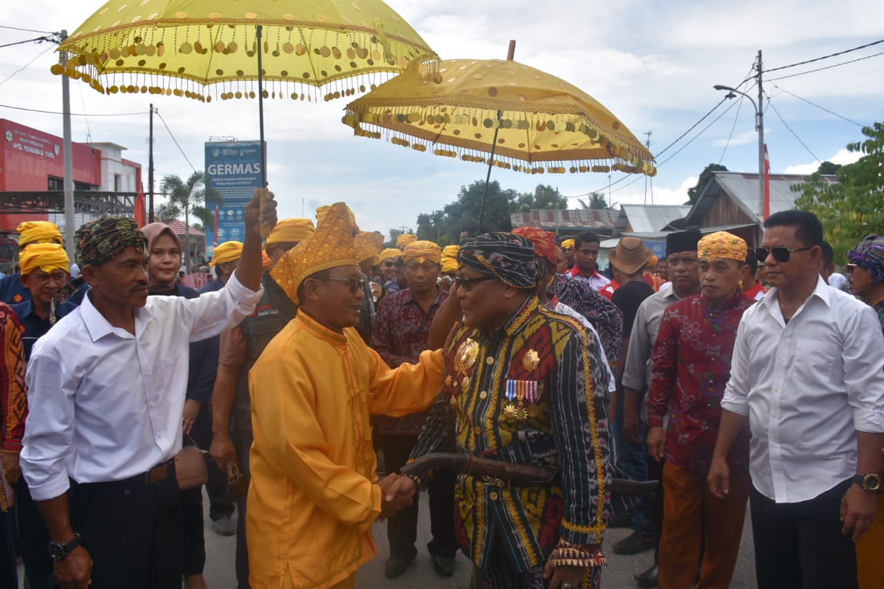 Pengantaran Mahasiswa KKN Untad Angkatan 89 Di Sambut Langsung Bupati Donggala