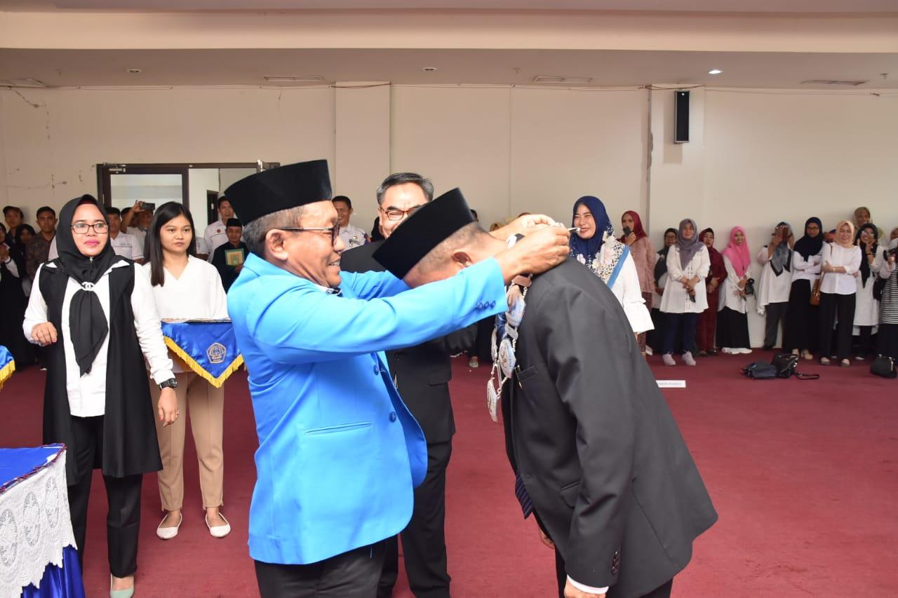 Rektor Lantik Dekan FKIP Beserta Pejabat Struktural Eselon III.a & IV.a Untad