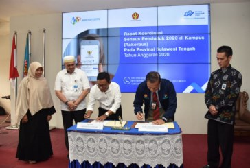 Untad & BPS Sulteng Jalin Kerjasama Terkait Sensus Penduduk 2020