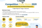 UGM Competition From Home 2020 Tingkat Perguruan Tinggi se-Indonesia
