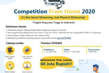 UGM Competition From Home 2020 Tingkat Perguruan Tinggi se-Indonesia