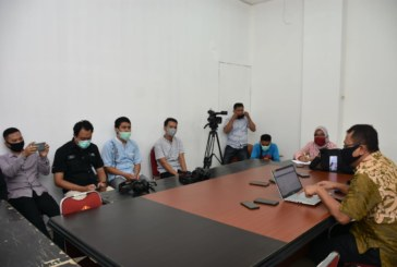 Humas LTMPT Untad Gelar Press Conference Terkait Pelaksanaan UTBK Juli 2020 Mendatang