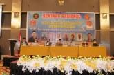 Fakultas Hukum Untad Gelar Seminar Nasional Kerjasama Dengan DKPP RI Terkait Penguatan Demokrasi & Pemilu di Indonesia