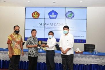 Universitas Borneo Tarakan Lakukan Studi Banding Ke Untad Terkait Managemen Akademik & Keuangan