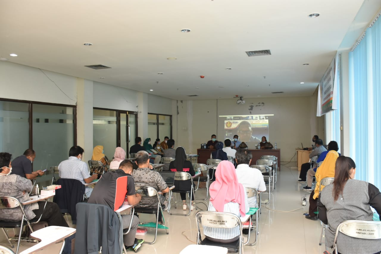 PUSLAK SPMI LPPMP Untad Gelar Pelatihan Penyusunan Dokumen Akreditasi Program Studi