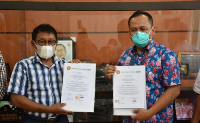 Untad Tandatangani Kerjasama MoU Dengan PT Bank Rakyat Indonesia (Persero) Tbk