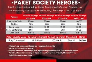 PAKET SOCIETY HEROES 2021