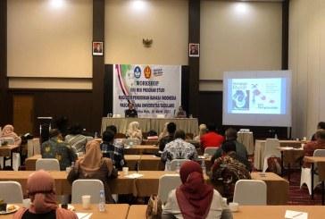 Prodi Magister Pendidikan Bahasa Indonesia Untad Gelar Workshop Terkait Upgrade Visi Misi Program Studi
