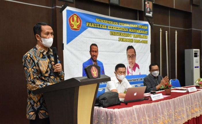 Prof Nurdin Rahman Terpilih Kembali Pimpin FKM Untad