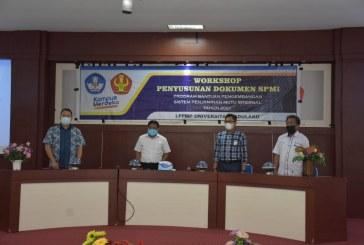 LPPMP Untad Gelar Workshop Penyusunan Dokumen SPMI Tahun 2021