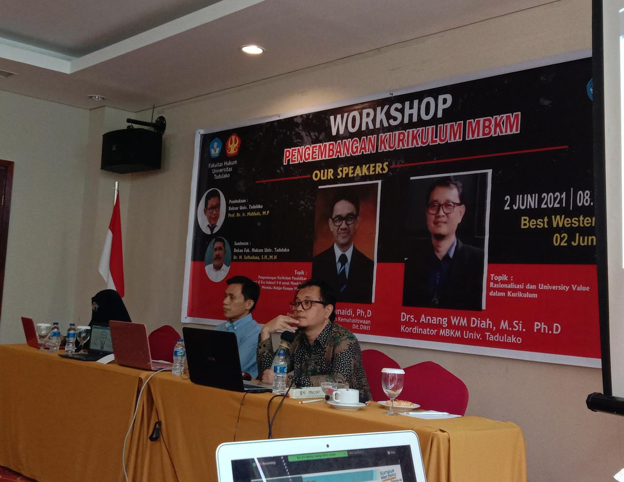Fakultas Hukum Untad Gelar Workshop Pengembangan Kurikulum Merdeka Belajar Kampus Merdeka