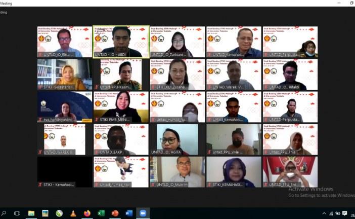 Sekolah Tinggi Informatika & Komputer (STIKI)- Malang Lakukan Studi Banding Via Daring Dengan Untad