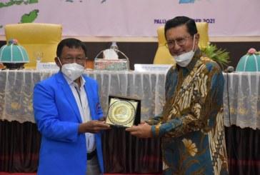 Wakil Ketua MPR RI Kunjungi Untad Terkait Pembentukan BP2KTI Bersama Civitas Akademika