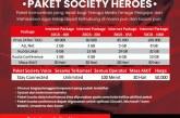 PAKET SOCIETY HEROES DIPERPANJANG HINGGA AKHIR TAHUN 2021