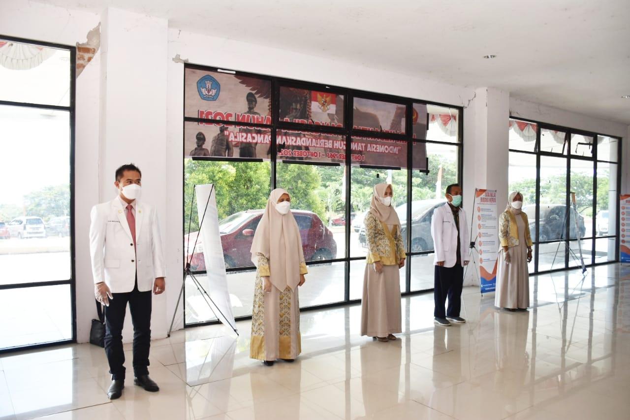 Rektor Lantik Para Wakil Dekan Fakultas Kedokteran Periode 2021-2025