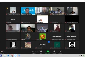 UPT. Perpustakaan Universitas Tadulako Gelar Sosialisasi Jurnal Ilmiah Via Daring