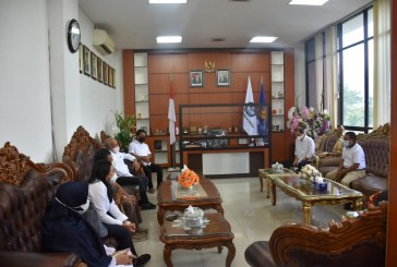 Temui Rektor Untad, Kepala BPPW Sulteng Bahas Percepatan Rehab Rekon Untad