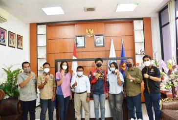 Rektor Sambut Mahasiswa Atlet Peraih Medali PON Papua XX 2021