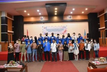 Untad Bersama BNI Lakukan Penyerahan Secara Simbolis Buku Tabungan Mahasiswa Penerima Bantuan KIP-Kuliah Untad Tahun 2021